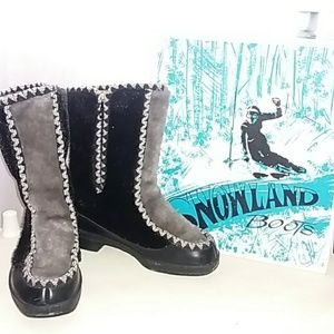 Vintage Snowland boots with box